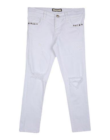 Фото - Джинсовые брюки от PUCCI COSTA белого цвета