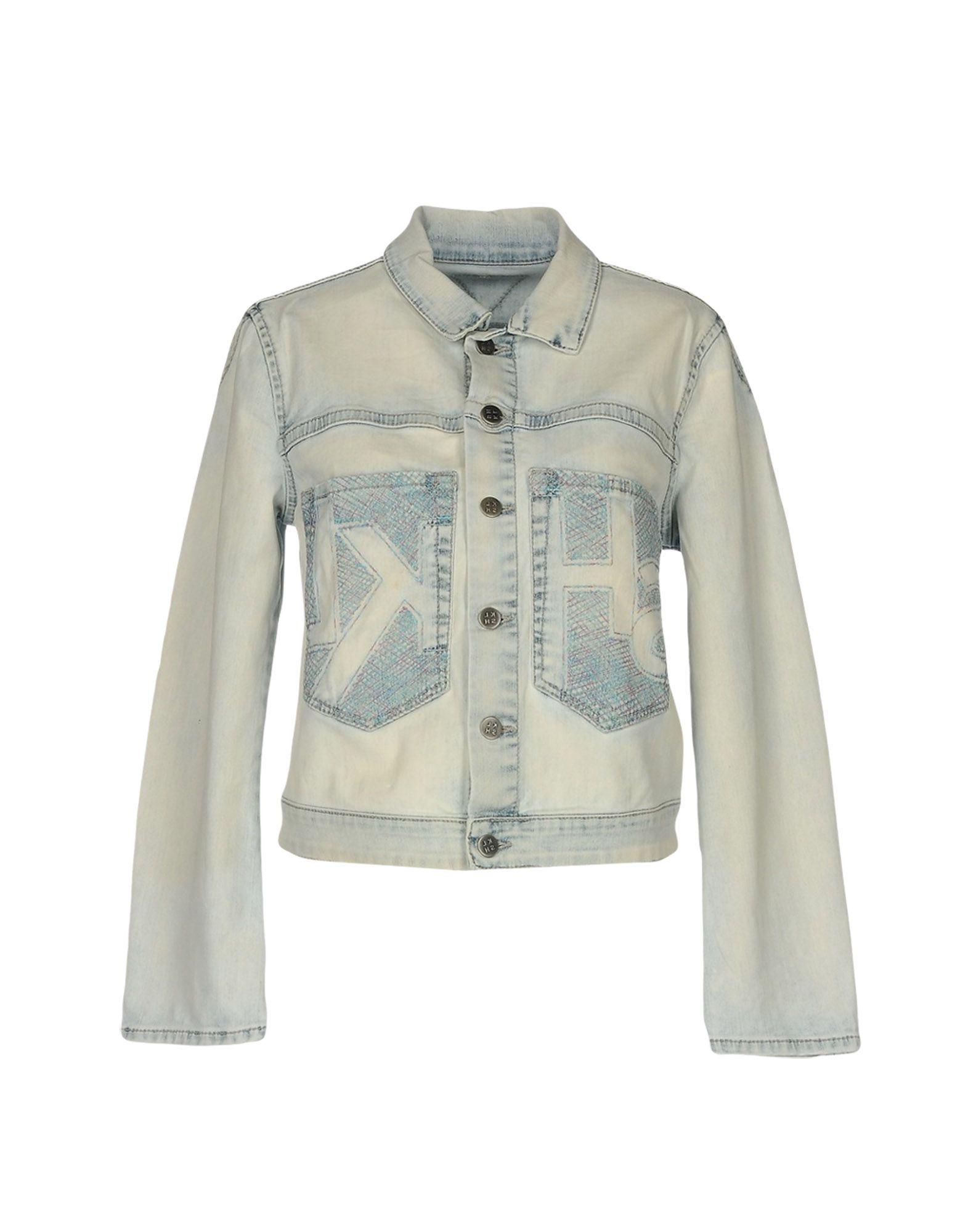 MELTIN POT KLSH Джинсовая верхняя одежда meltin pot klsh джинсовые брюки
