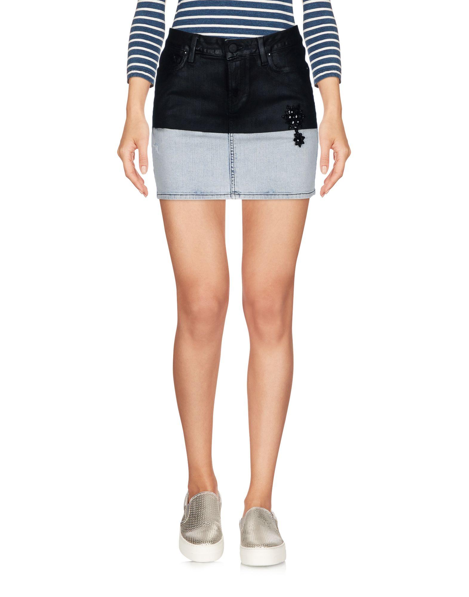 Фото - ROŸ ROGER'S Джинсовая юбка pieces джинсовая юбка