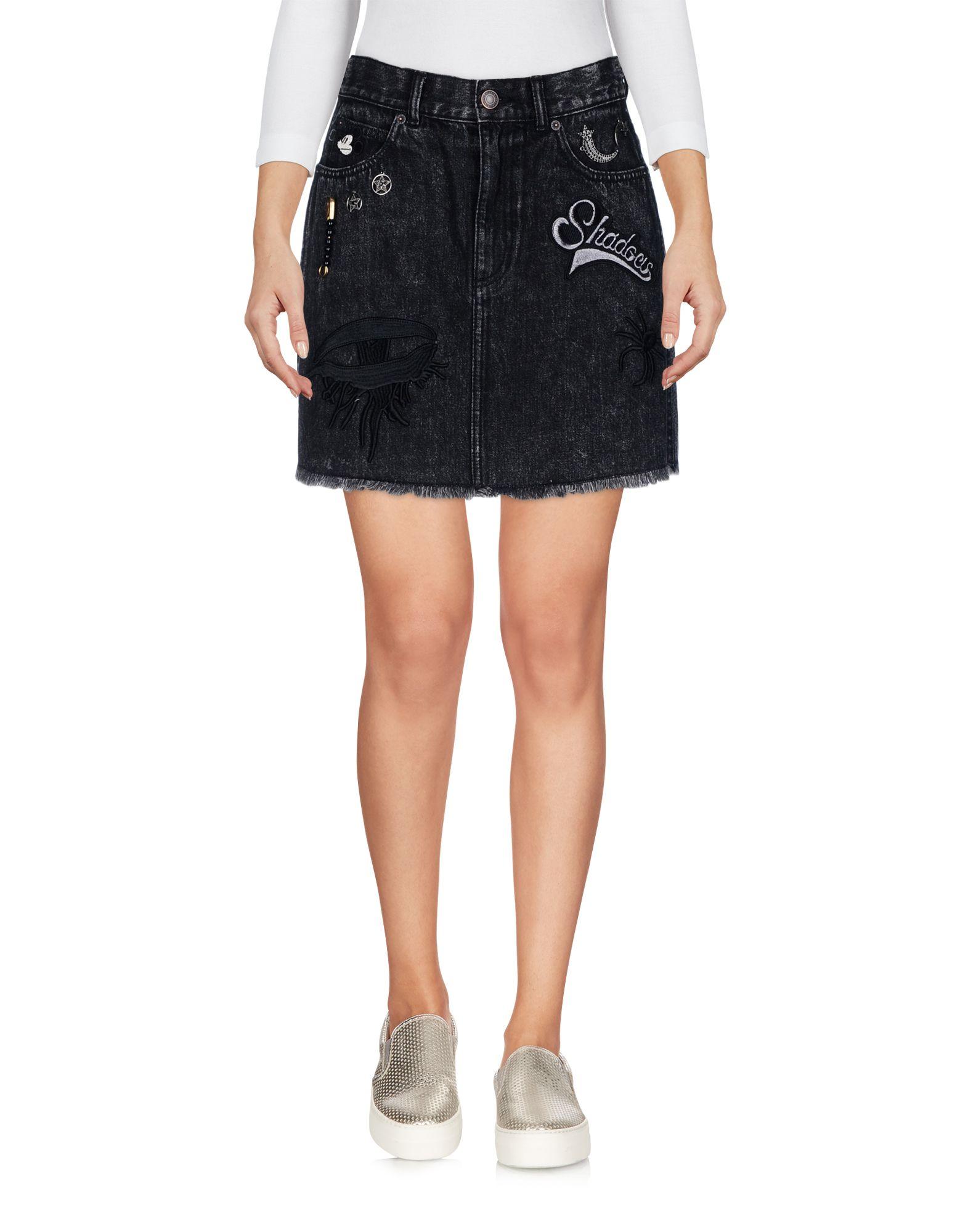 Фото - MARC JACOBS Джинсовая юбка pieces джинсовая юбка