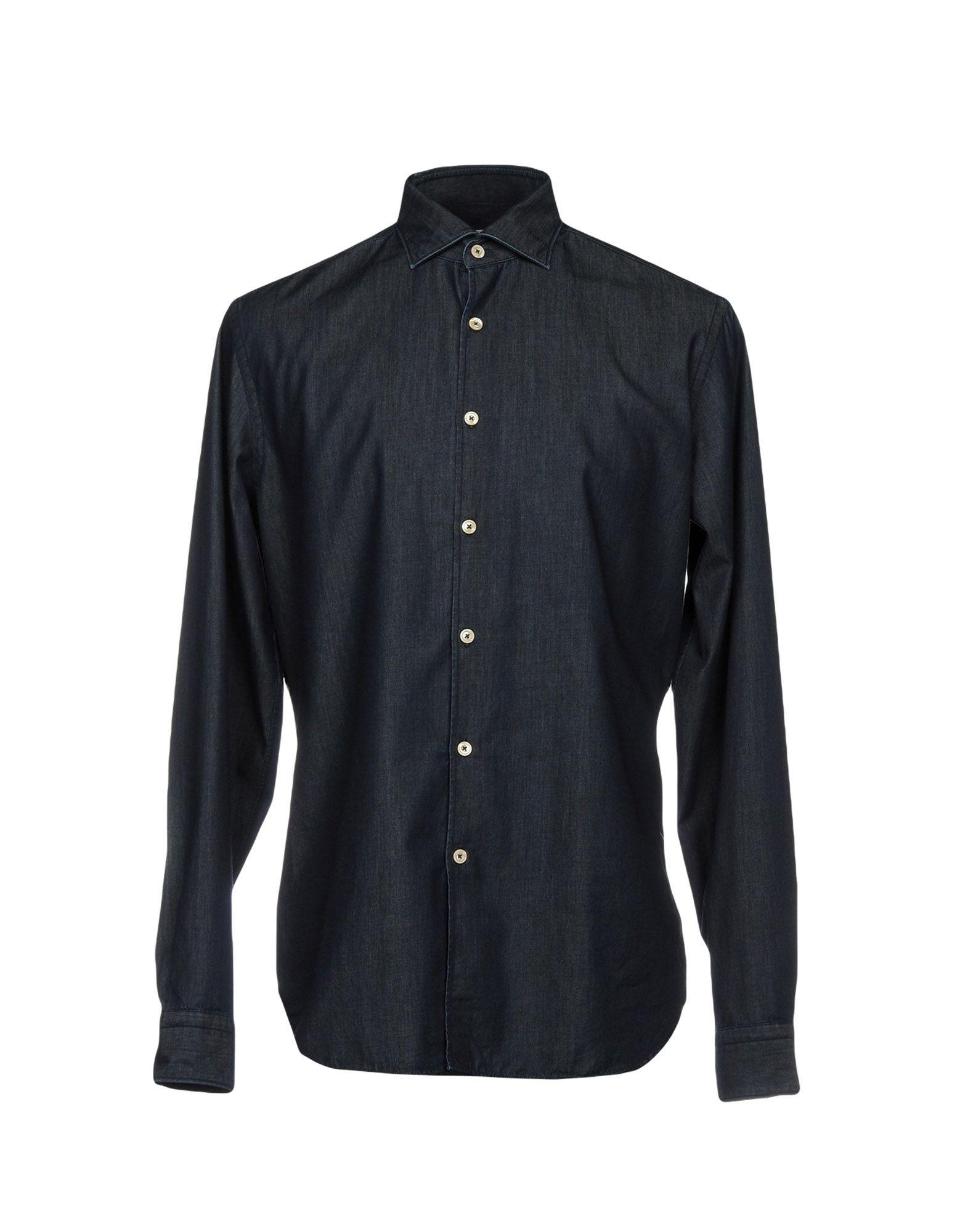 ALESSANDRO GHERARDI Джинсовая рубашка