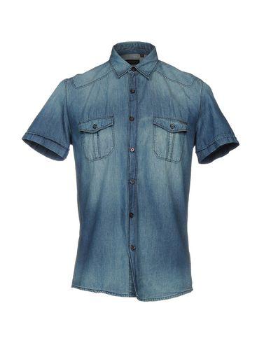 Джинсовая рубашка размер 46 цвет синий