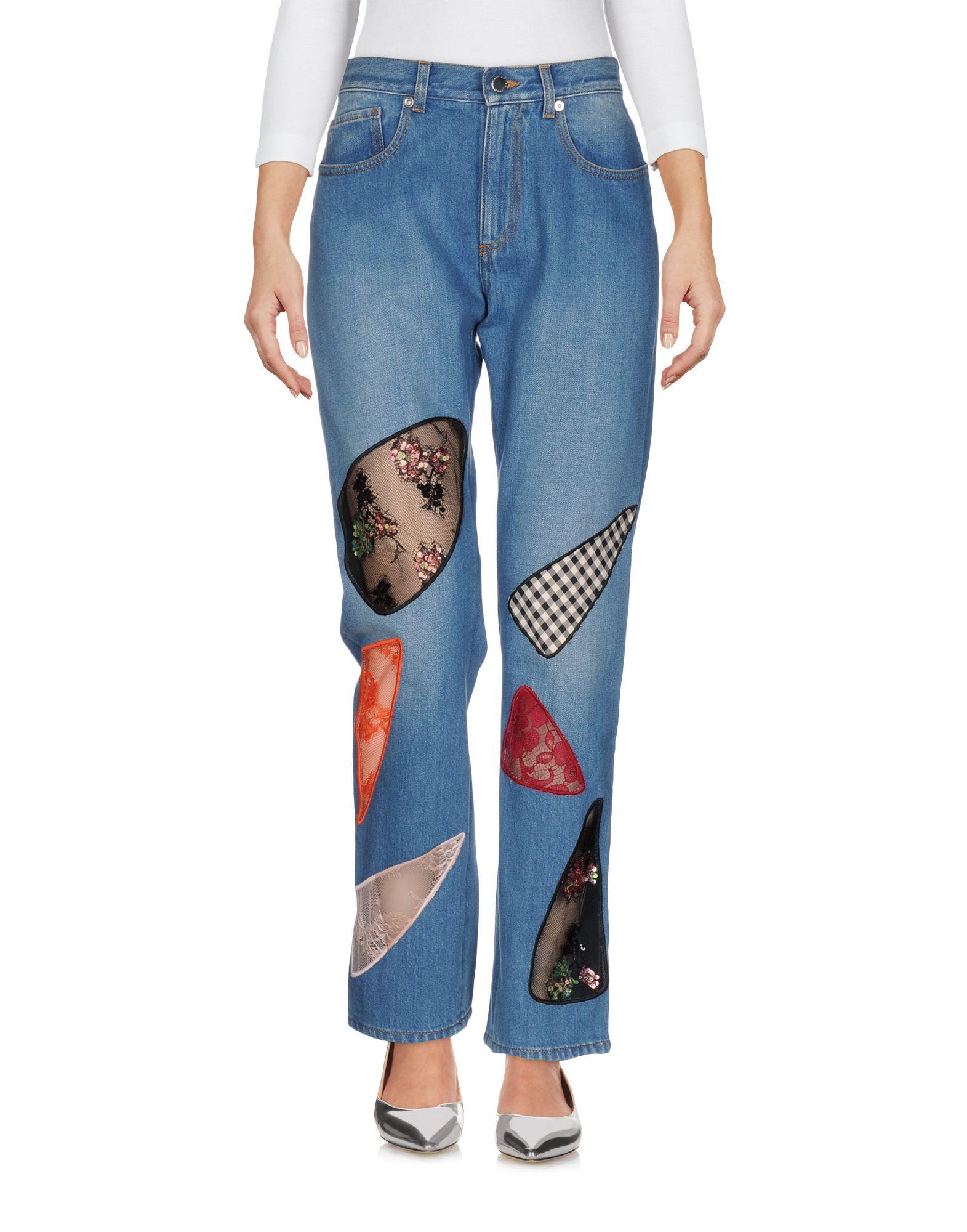 CHRISTOPHER KANE Джинсовые брюки цена 2017