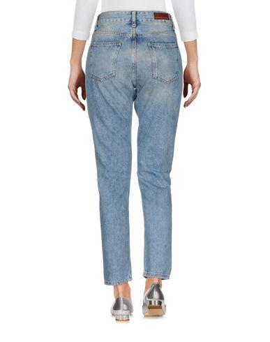 Фото 2 - Джинсовые брюки от BRIAN DALES синего цвета