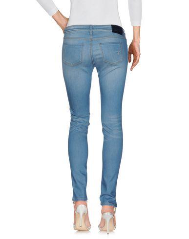 Фото 2 - Джинсовые брюки от RE-HASH синего цвета