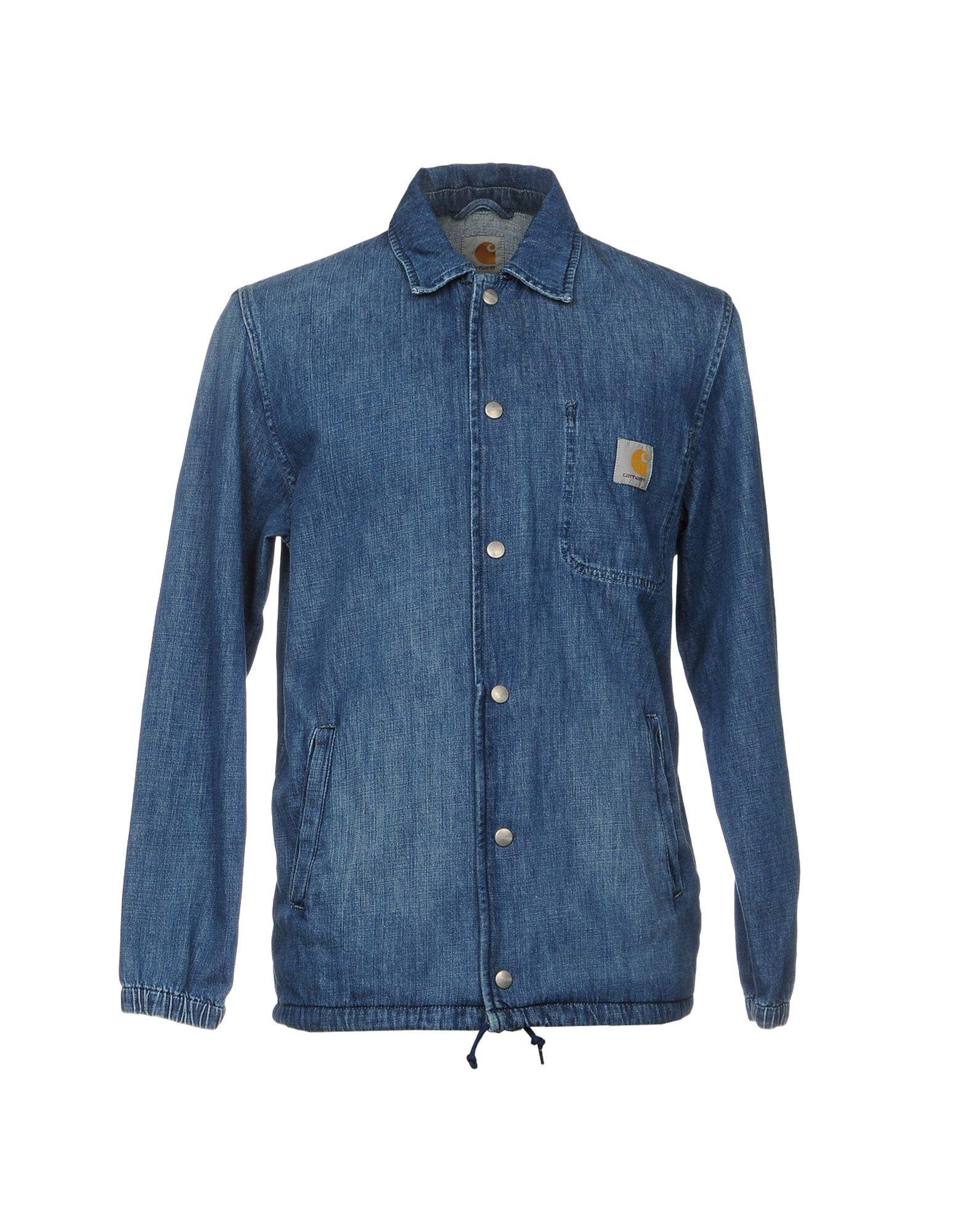 CARHARTT Джинсовая верхняя одежда reiko джинсовая верхняя одежда