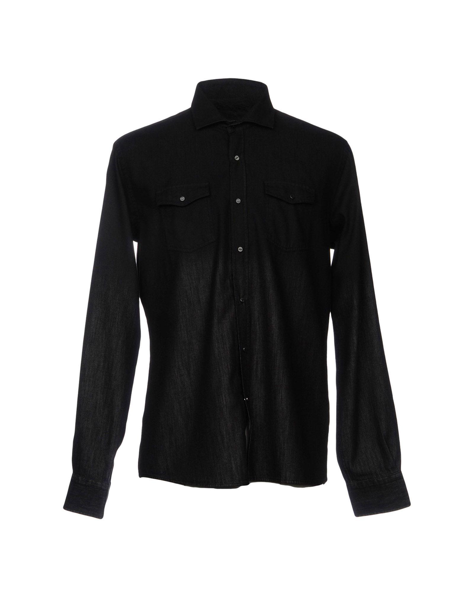 цены на KARL LAGERFELD Джинсовая рубашка в интернет-магазинах