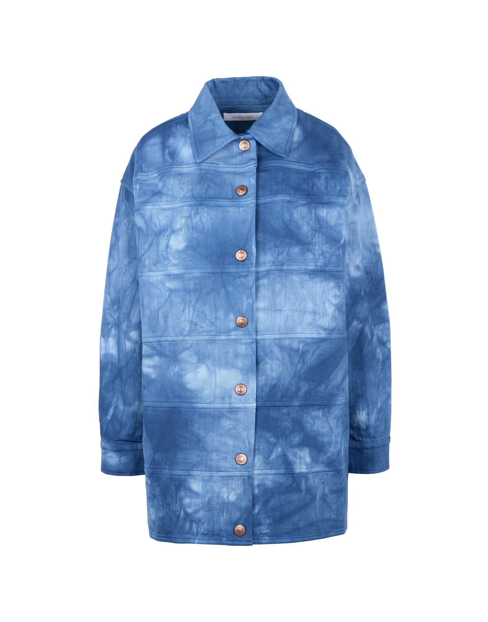 SEE BY CHLOÉ Джинсовая верхняя одежда цена 2017