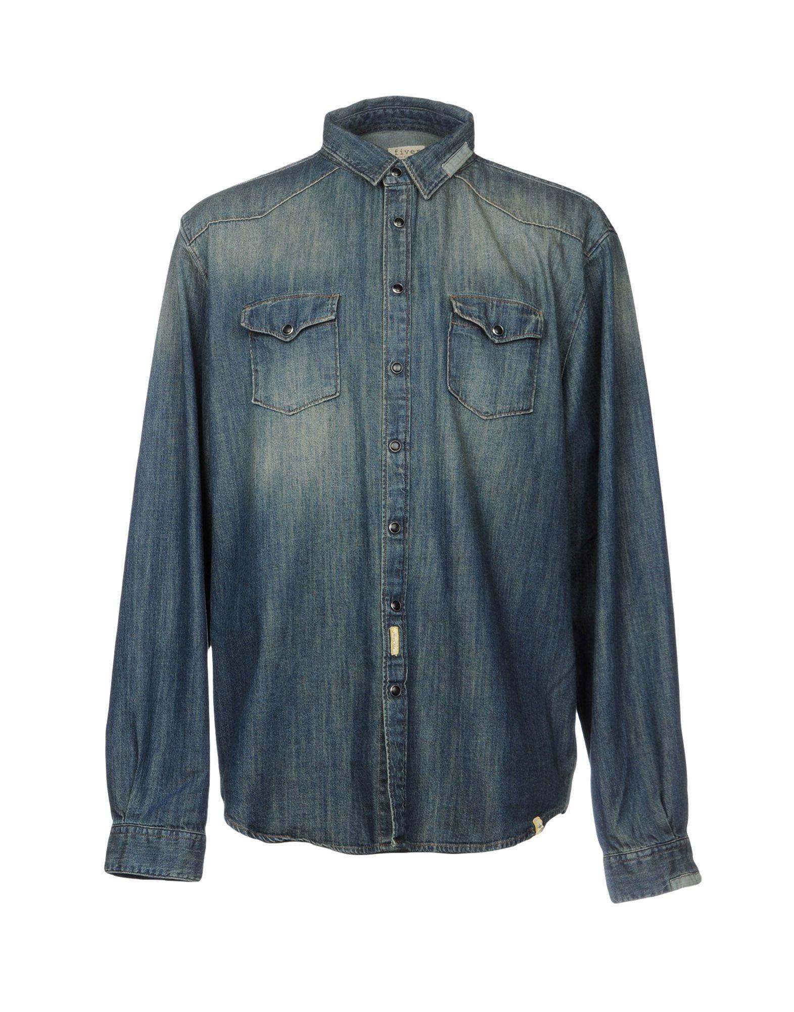 FIVER Джинсовая рубашка fiver пиджак