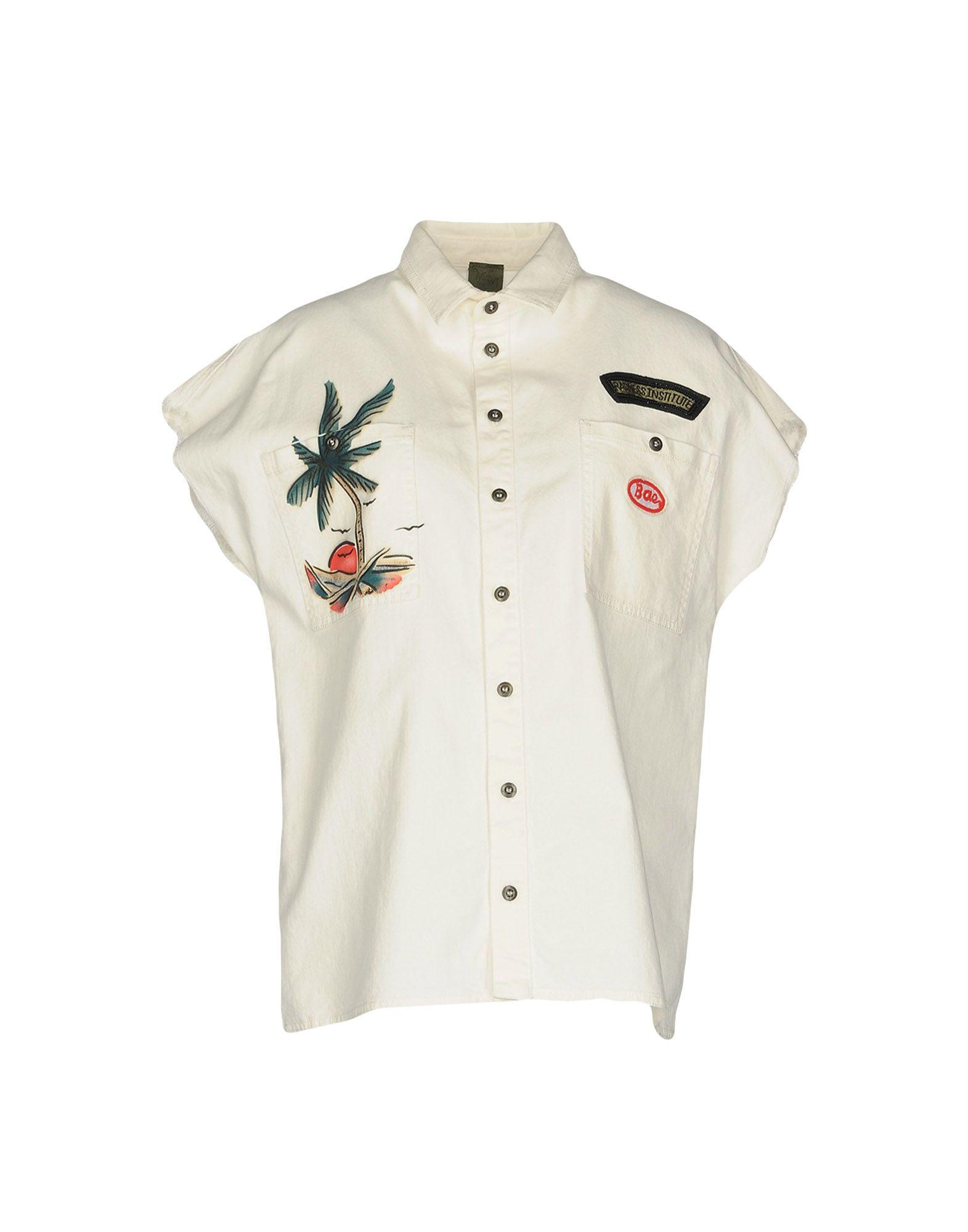MR & MRS ITALY Джинсовая рубашка duchess mrs geoffrey
