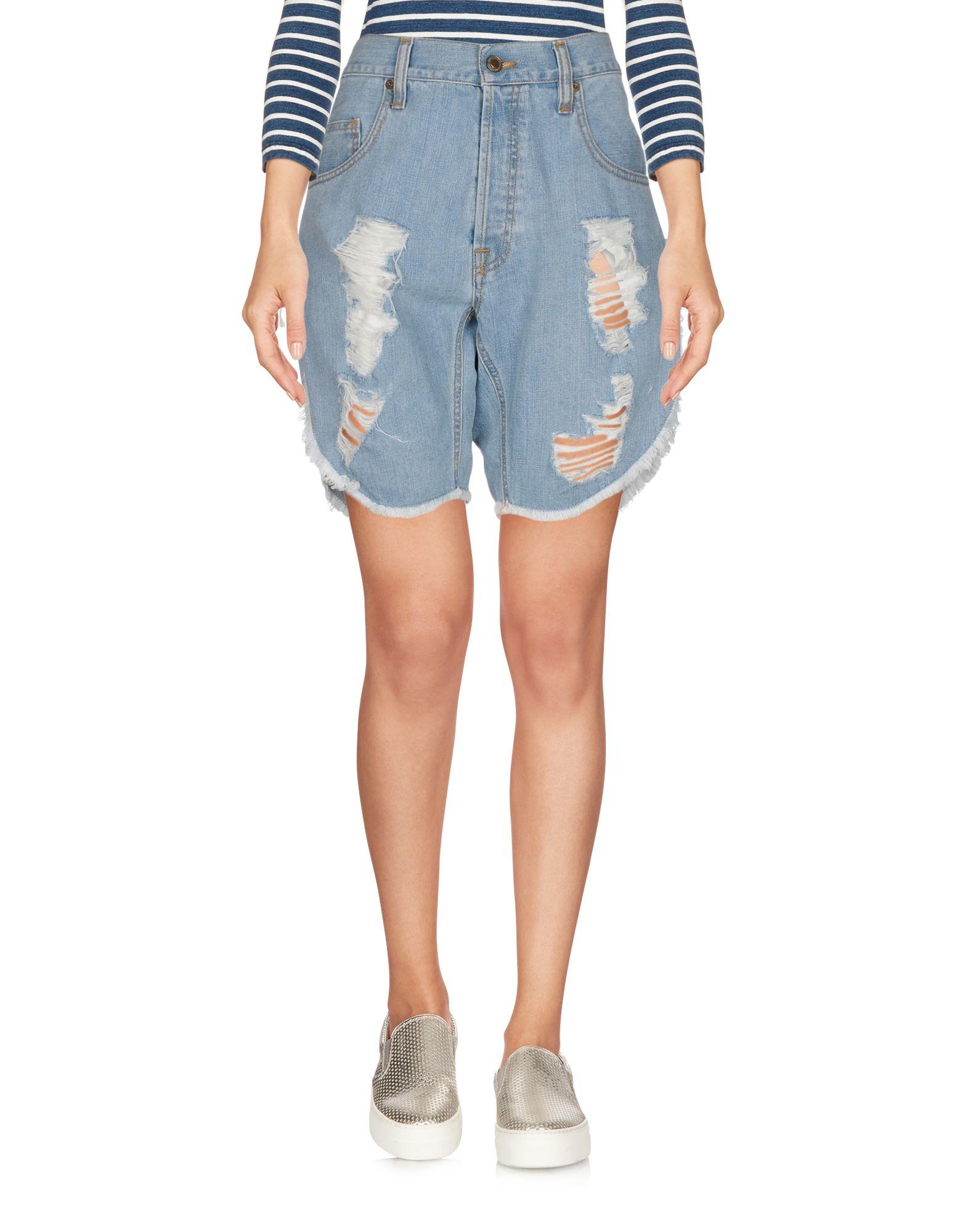 TRUE NYC. Джинсовые бермуды джинсовые бермуды quelle arizona 246735