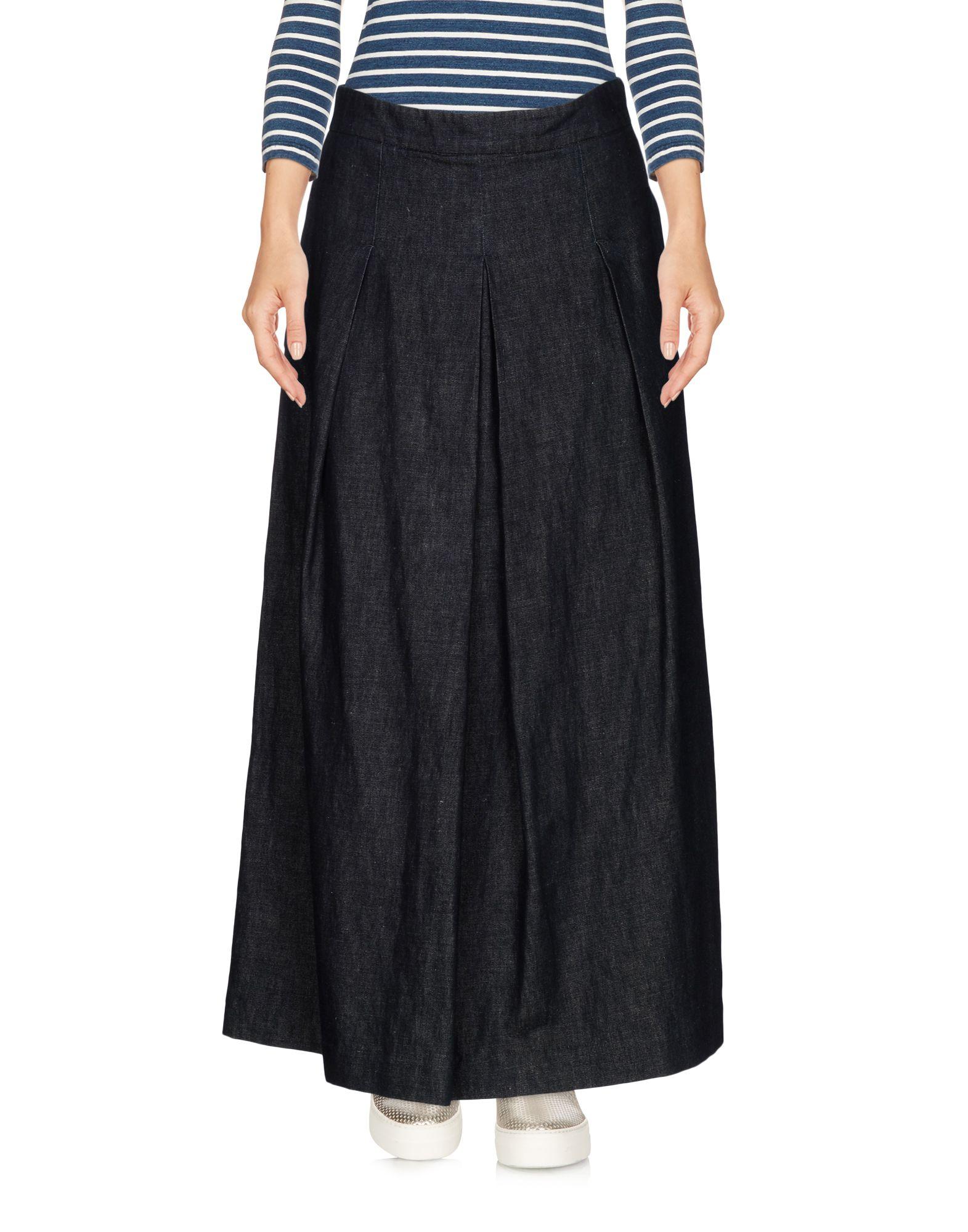 цена 'S MAX MARA Джинсовая юбка онлайн в 2017 году