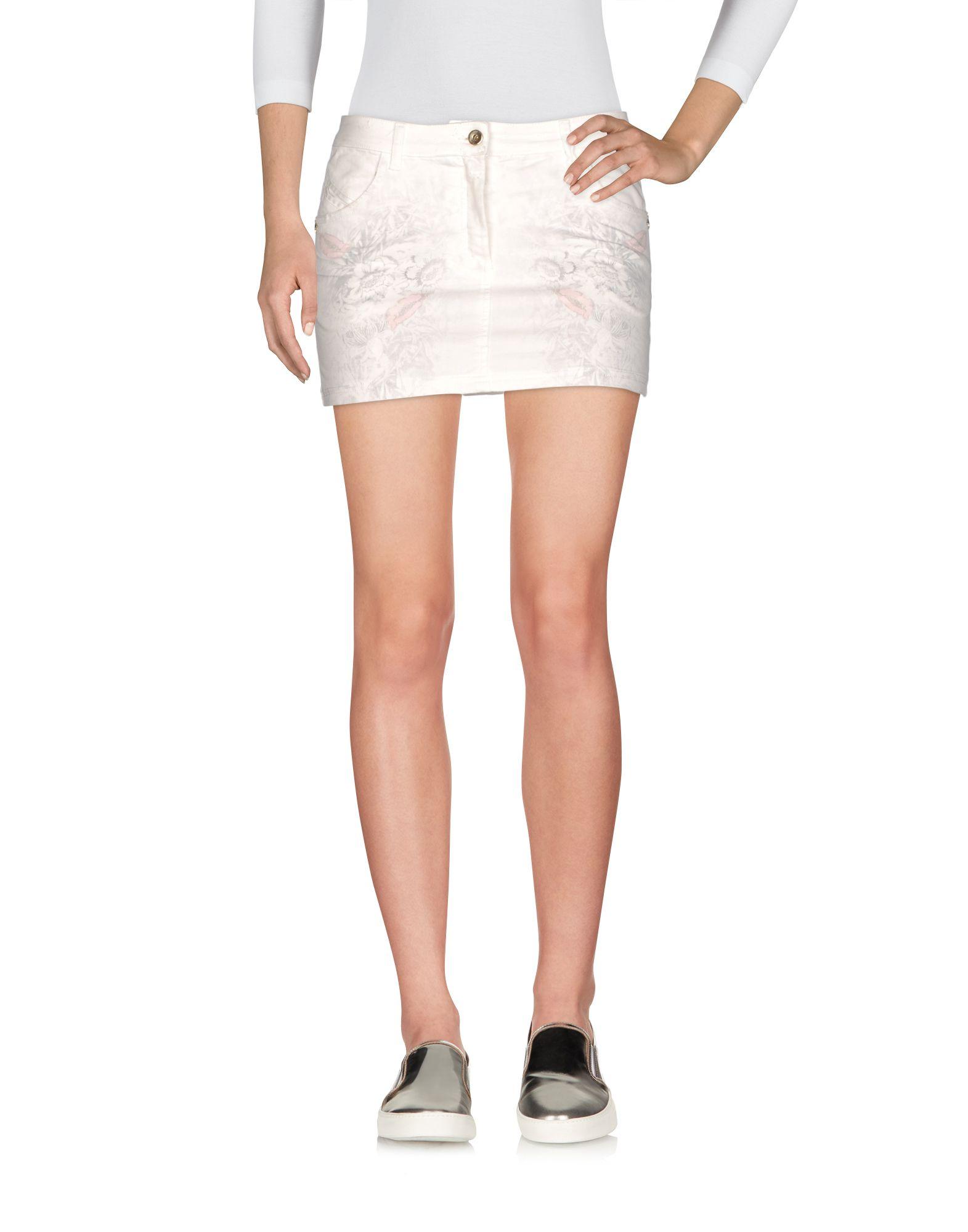 PATRIZIA PEPE Джинсовая юбка цены онлайн