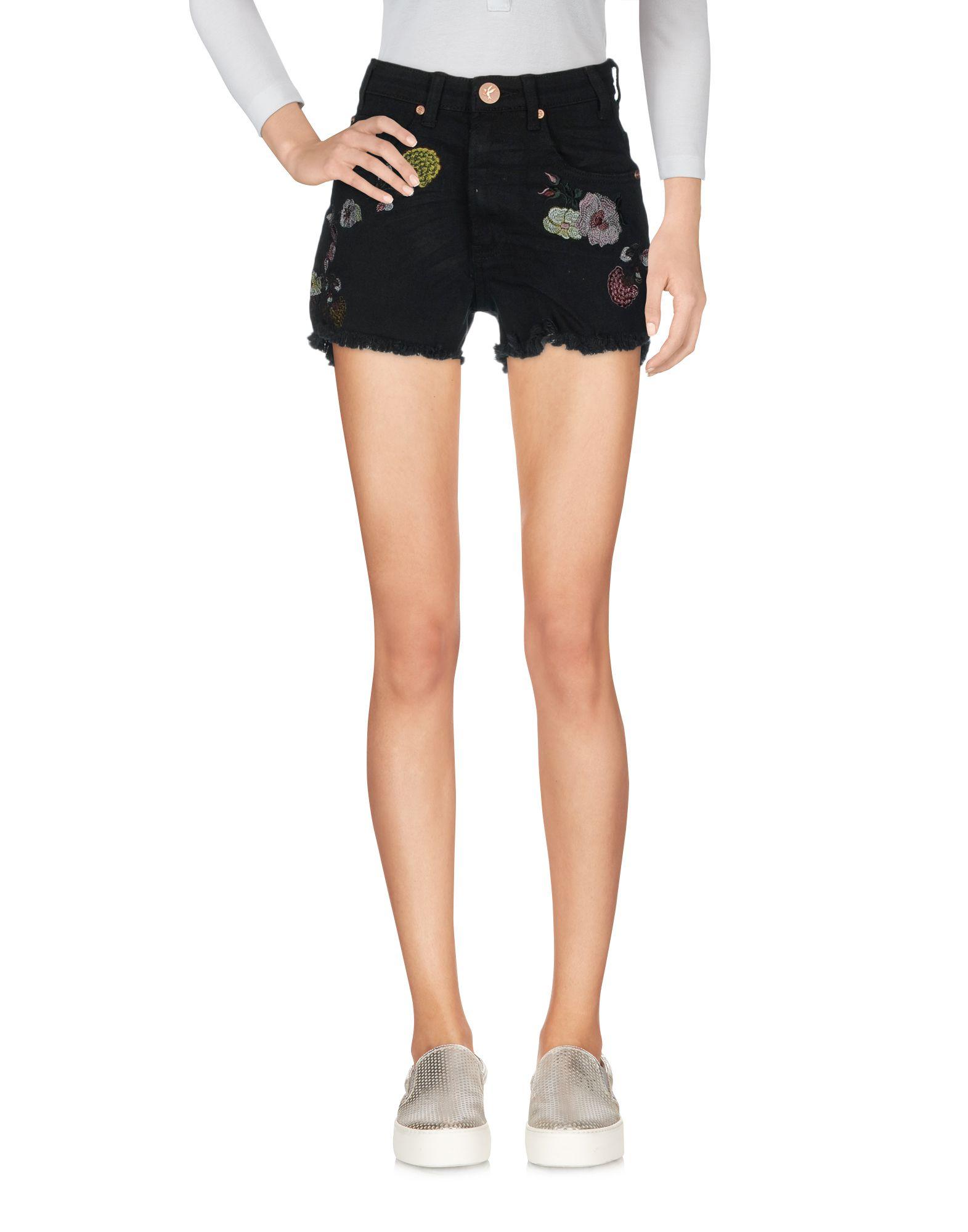 ONE x ONETEASPOON Джинсовые шорты шорты джинсовые lonsdale lonsdale lo789emcdg82