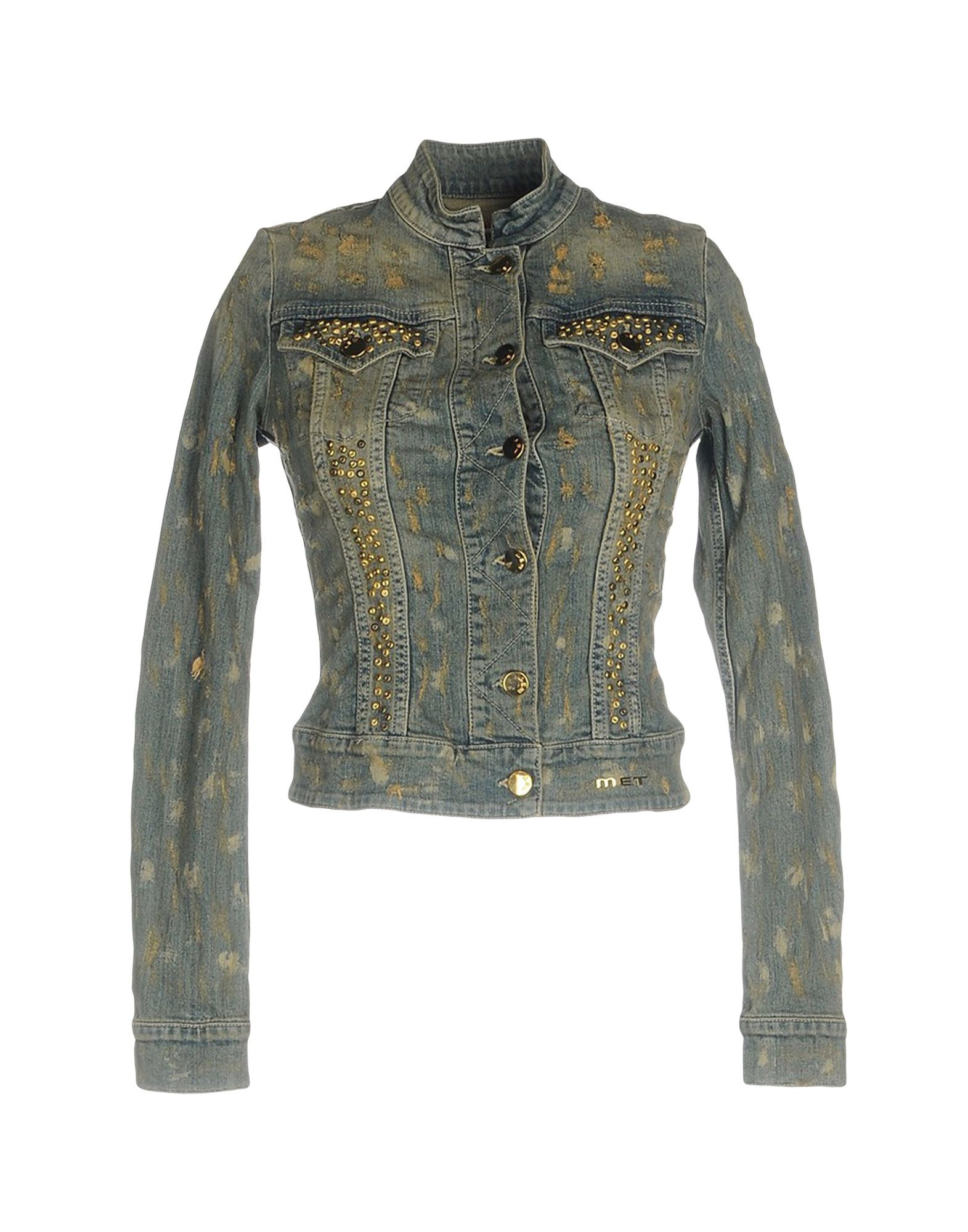 MET Джинсовая верхняя одежда reiko джинсовая верхняя одежда