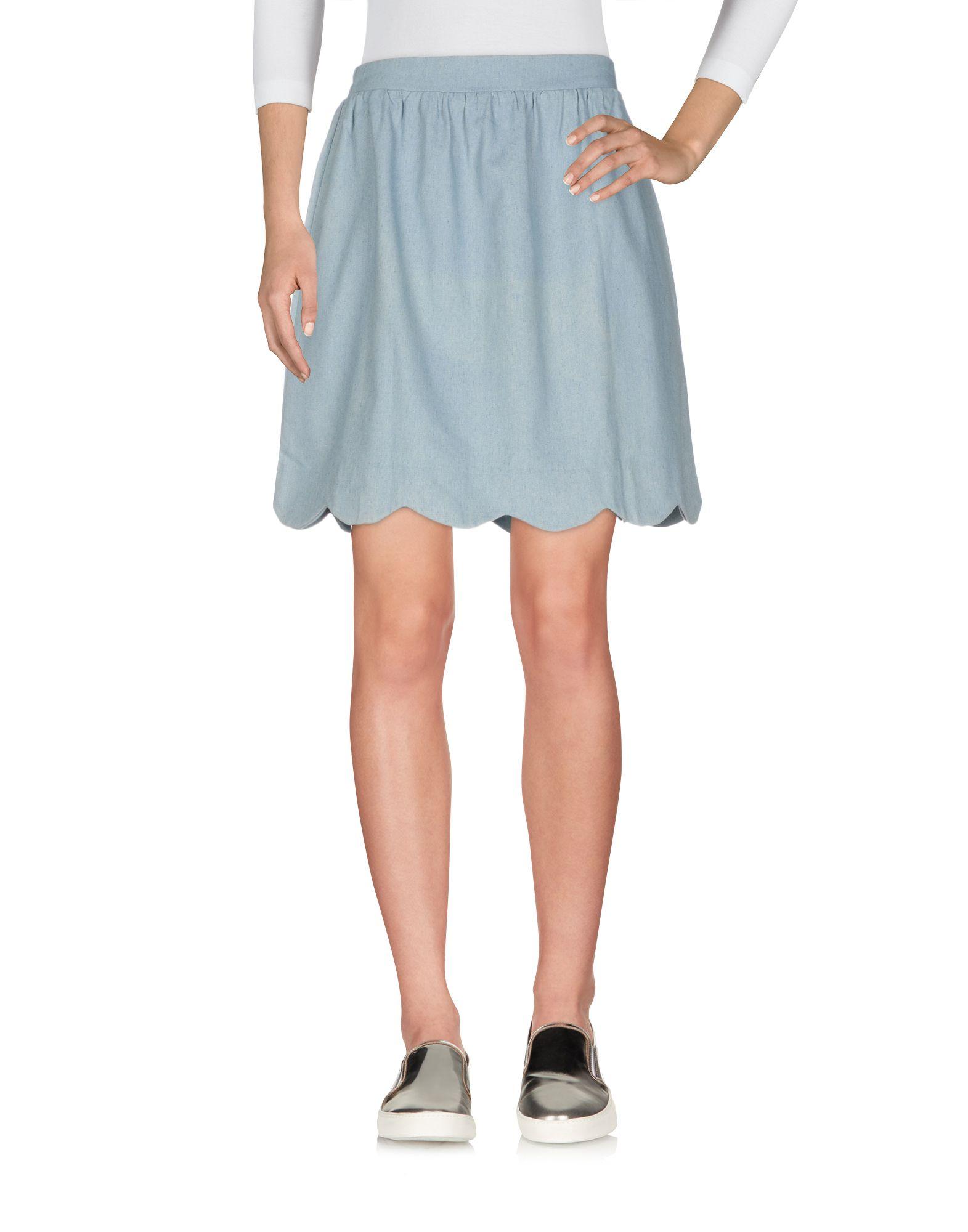 COMPAÑIA FANTASTICA Джинсовая юбка vinemo vorneoco корейская версия высокой талии слот пакет юбка джинсовая юбка юбка юбка r1540 серый xl