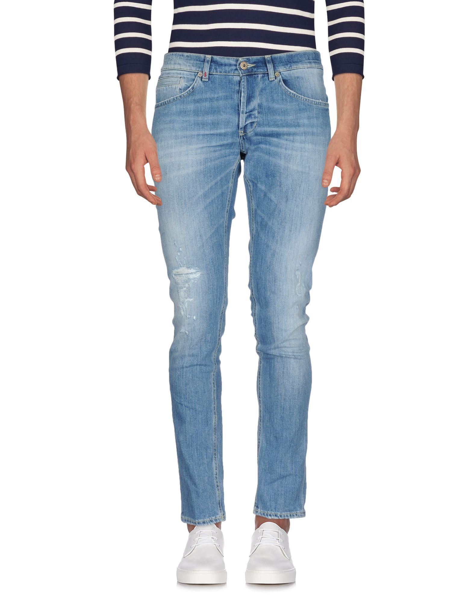 DONDUP Джинсовые брюки женские брюки лэйт светлый размер 56