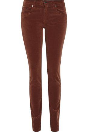 RAG & BONE The Skinny mid-rise corduroy jeans