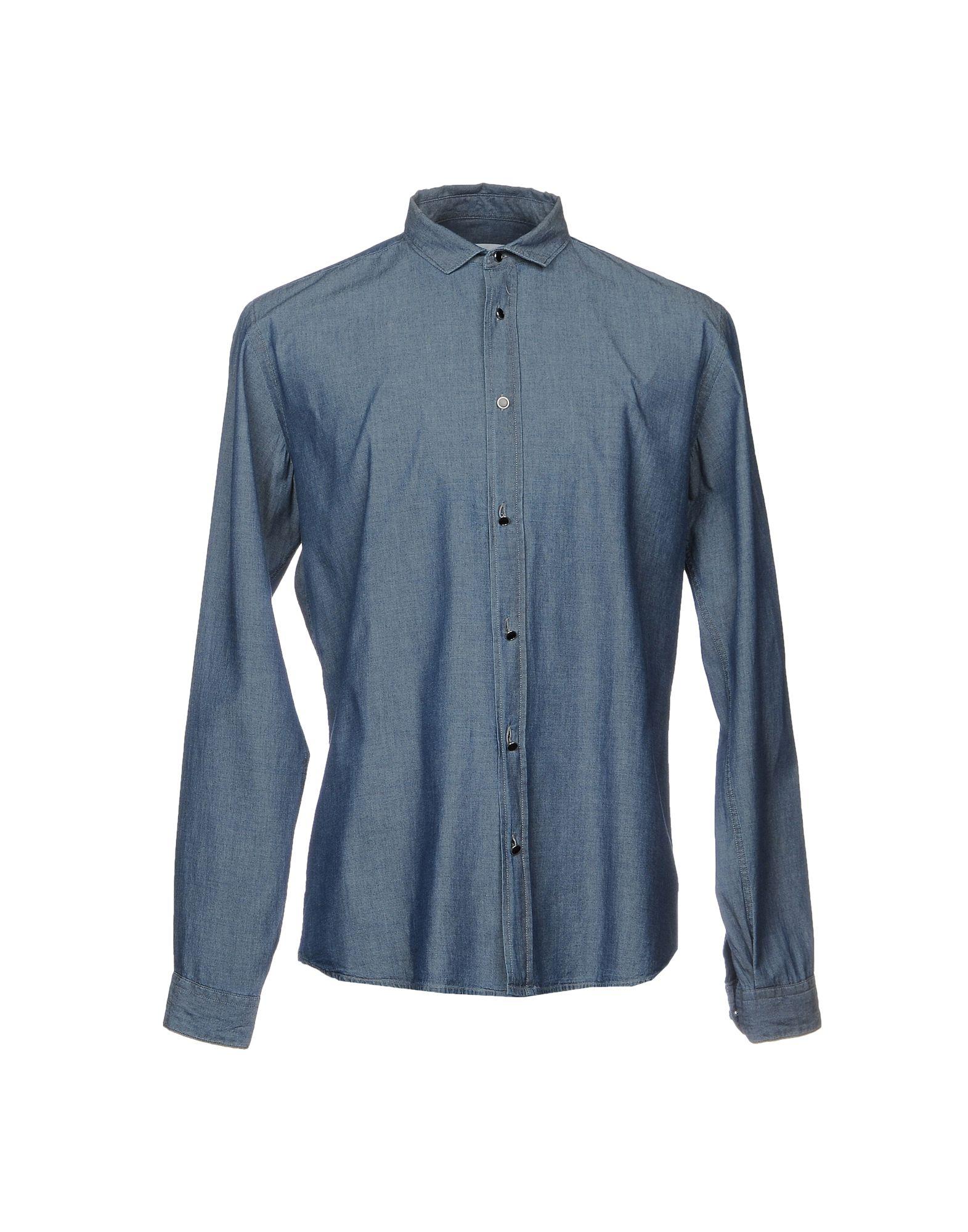 цены на ALLIEVI Джинсовая рубашка  в интернет-магазинах