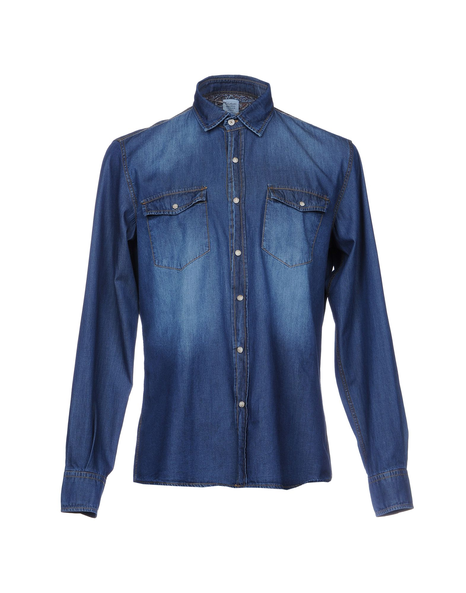 AUTHENTIC ORIGINAL VINTAGE STYLE Джинсовая рубашка new japanese original authentic vfr3140 5ezc