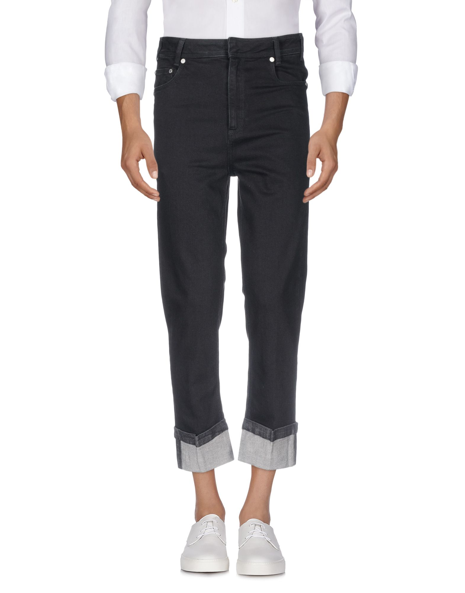 NEIL BARRETT Джинсовые брюки цена 2017