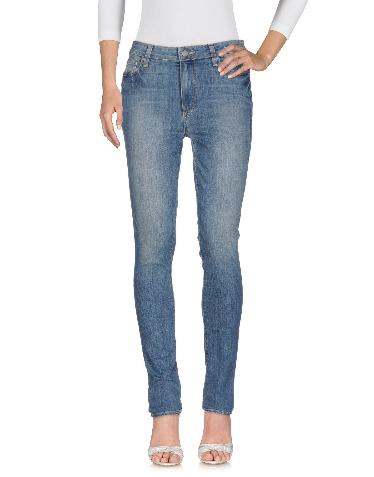 PAIGE Джинсовые брюки женские брюки лэйт светлый размер 50