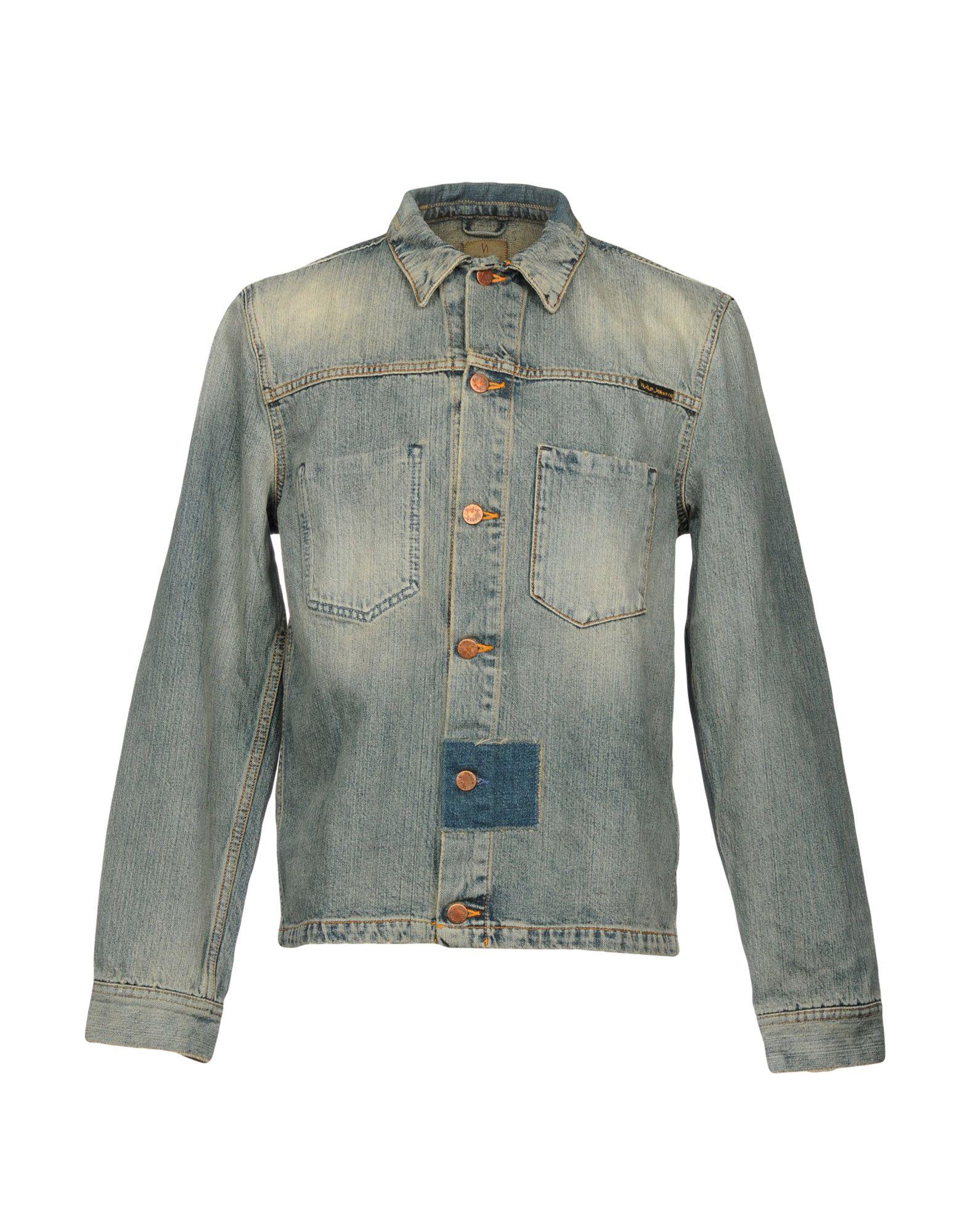 купить NUDIE JEANS CO Джинсовая верхняя одежда по цене 14000 рублей