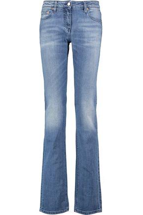ROBERTO CAVALLI Mid-rise straight-leg jeans