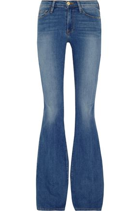 BY FRAME Le Forever Karlie Flare high-rise jeans