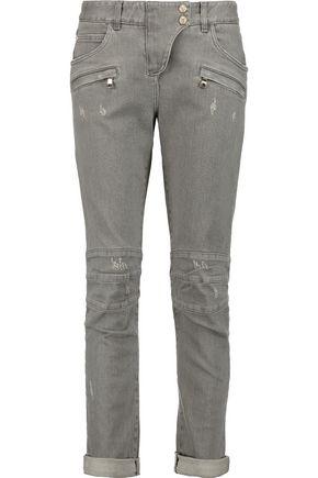BALMAIN Low-rise skinny jeans