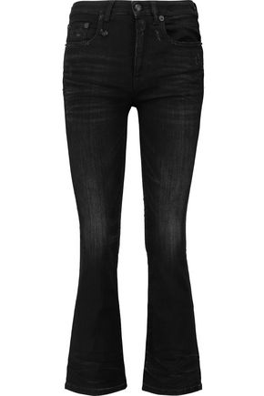 R13 Kickfit high-rise flared jeans