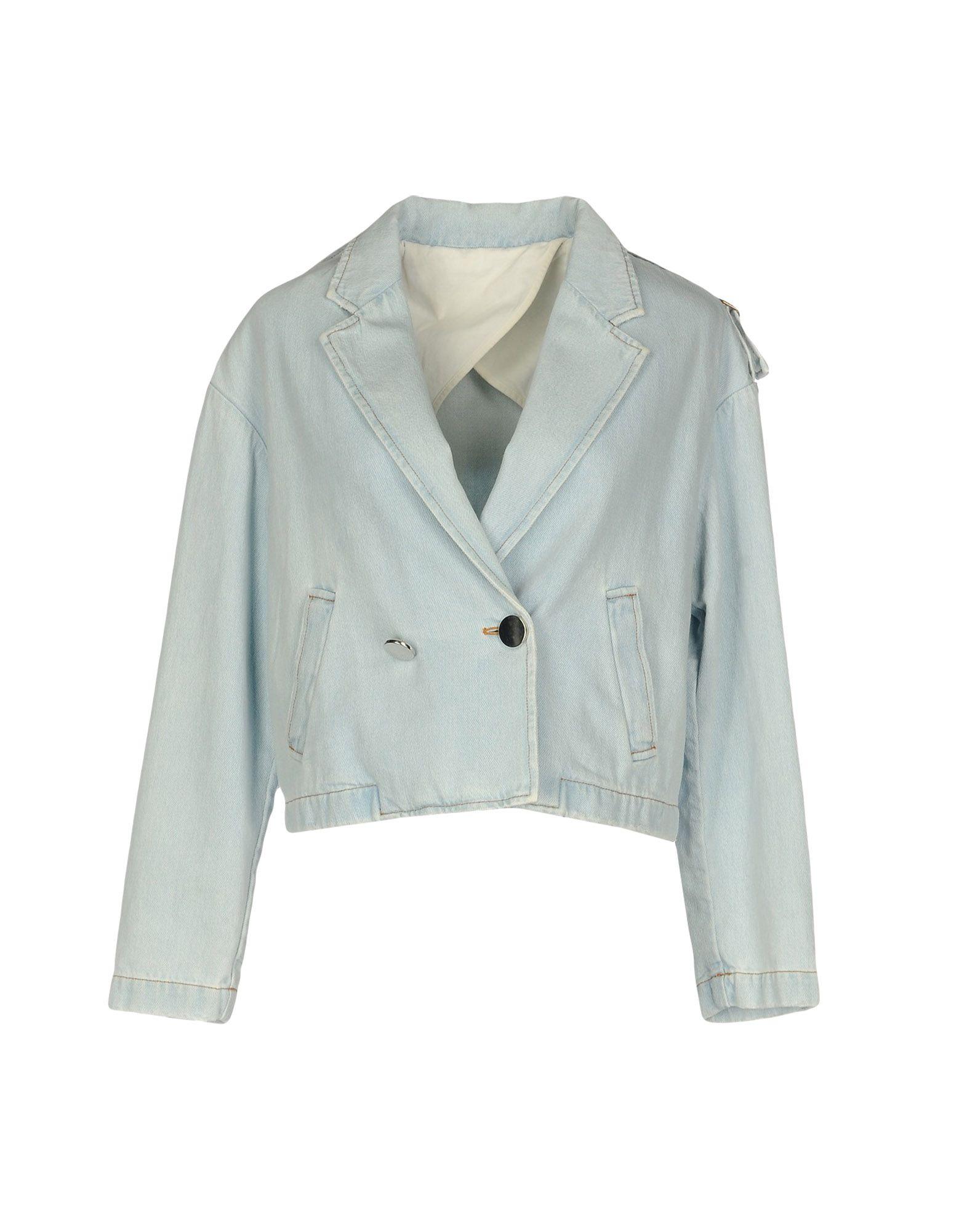 MAURO GRIFONI Джинсовая верхняя одежда wood wood джинсовая верхняя одежда