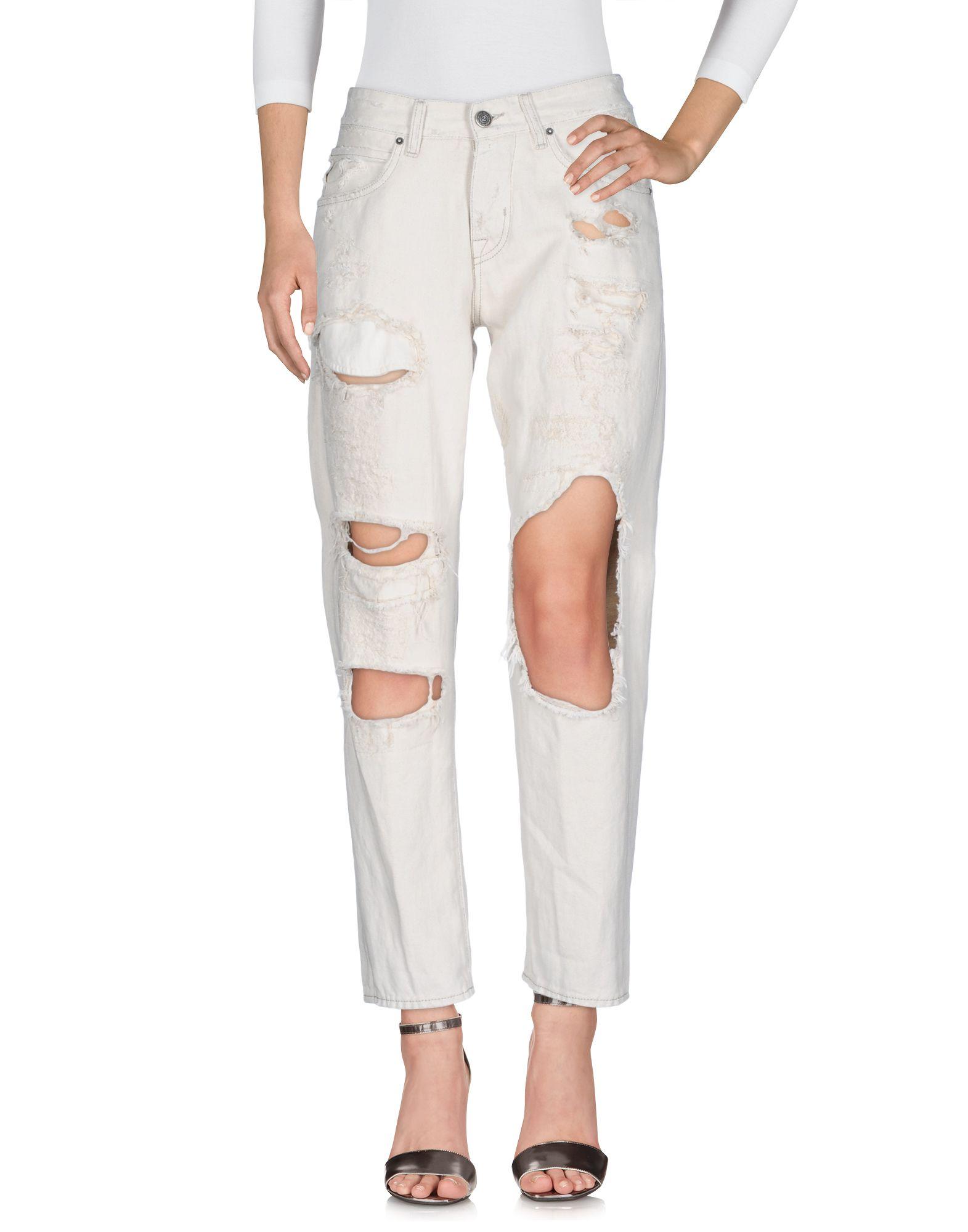 2W2M Джинсовые брюки