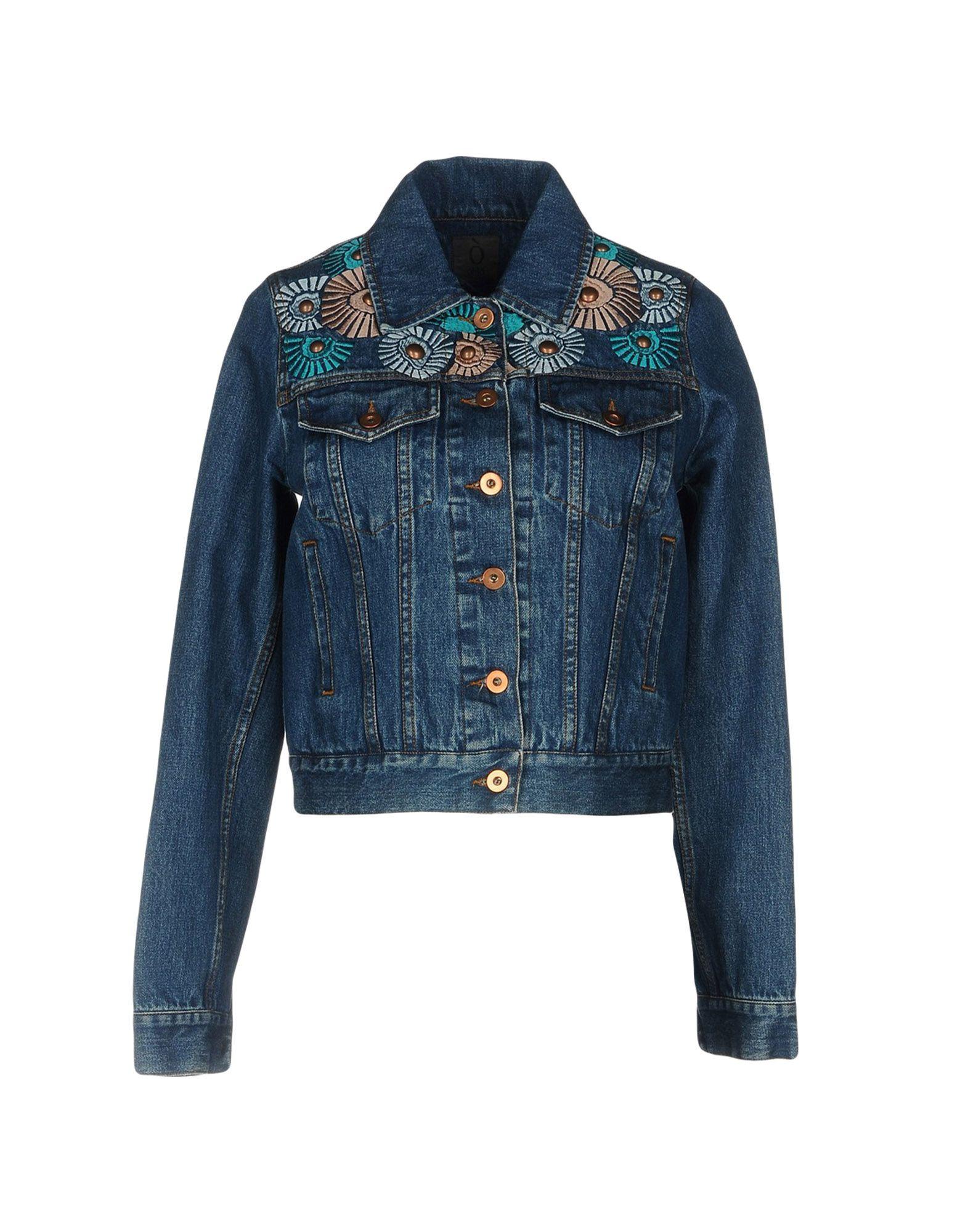 OBLÒ® UNIQUE Джинсовая верхняя одежда topshop unique джинсовая верхняя одежда