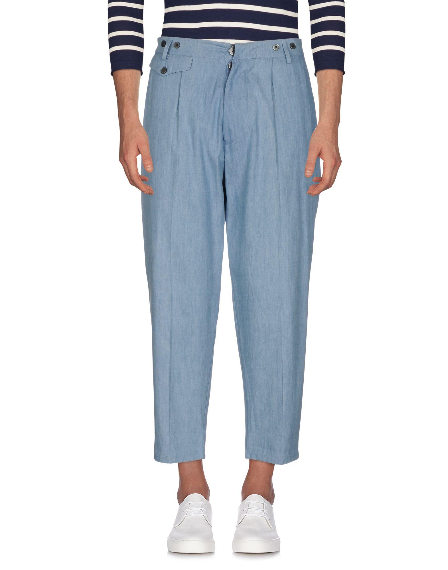 JOHN SHEEP Джинсовые брюки цена 2017