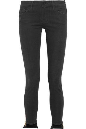 FRAME Skinny de Jeanne mid-rise jeans