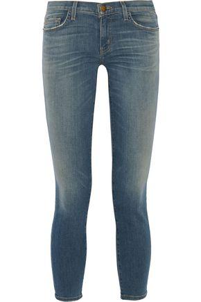 CURRENT/ELLIOTT The Stiletto low-rise skinny jeans