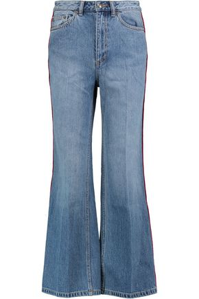 MARC BY MARC JACOBS High-rise cropped wide-leg jeans