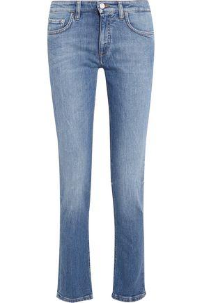 VICTORIA, VICTORIA BECKHAM Alt mid-rise slim-leg jeans