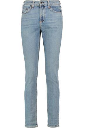 RAG & BONE 10 Inch Dre high-rise faded skinny jeans