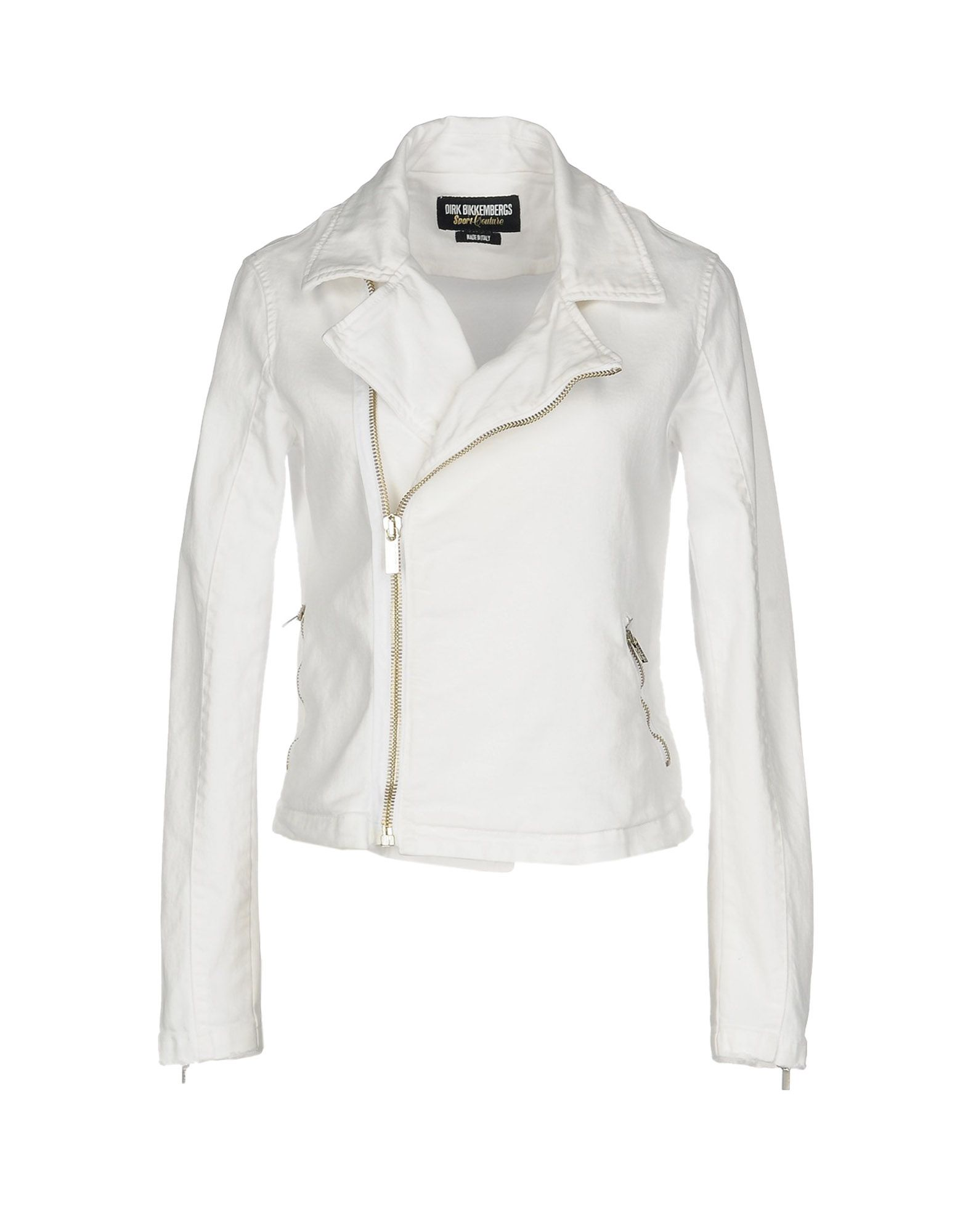 DIRK BIKKEMBERGS SPORT COUTURE Джинсовая верхняя одежда bencivenga couture джинсовая верхняя одежда