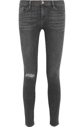 BY FRAME Le Skinny de Jeanne mid-rise jeans