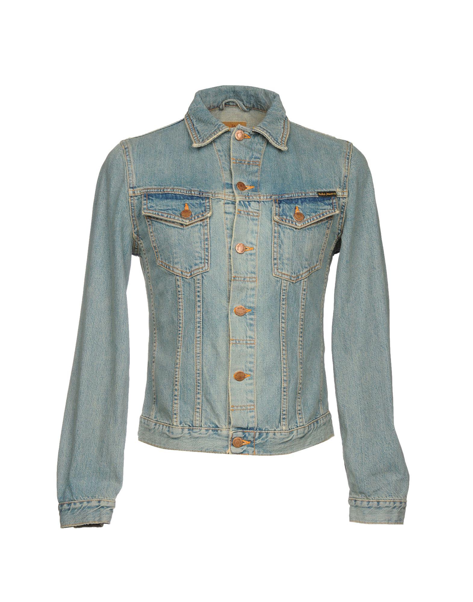 купить NUDIE JEANS CO Джинсовая верхняя одежда по цене 7700 рублей
