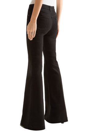 STELLA McCARTNEY The '70s mid-rise flared jeans