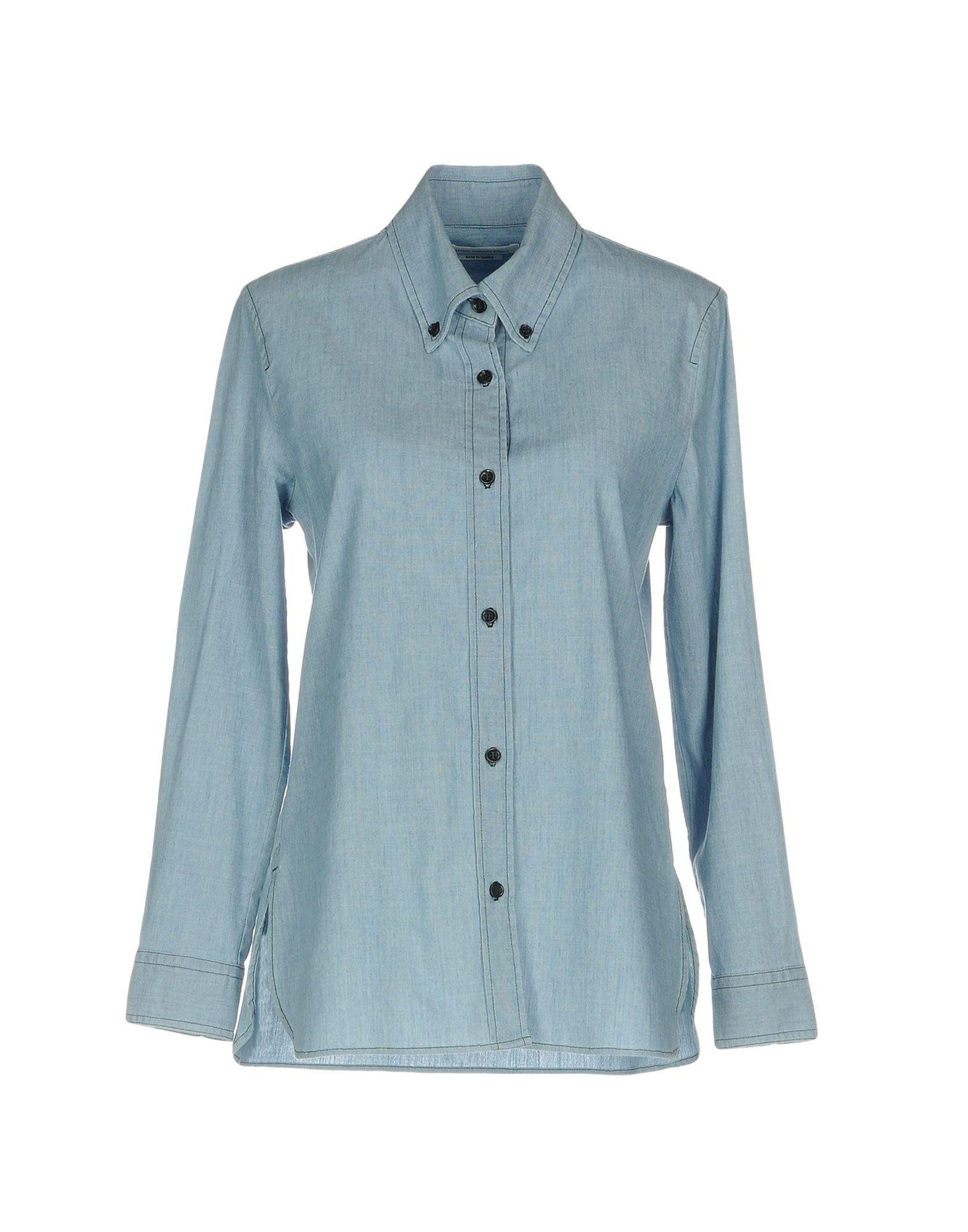 ISABEL MARANT ÉTOILE Джинсовая рубашка рубашка isabel queen
