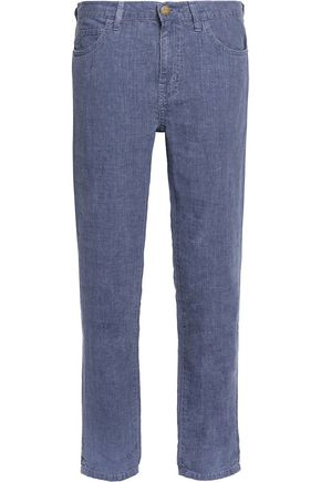 CURRENT/ELLIOTT The Fling boyfriend linen jeans