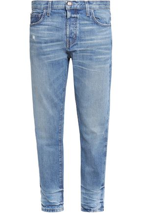 CURRENT/ELLIOTT The Selvedge Taper boyfriend jeans