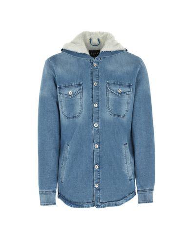 EDWA Manteau en jean homme