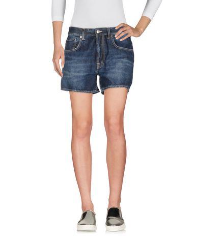 Pantaloni bermuda Blu donna (+) PEOPLE Bermuda jeans donna