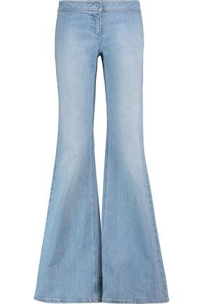 BALMAIN Mid-rise flared jeans